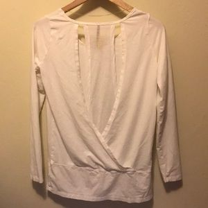 Lole Long Sleeve Active Top White Small